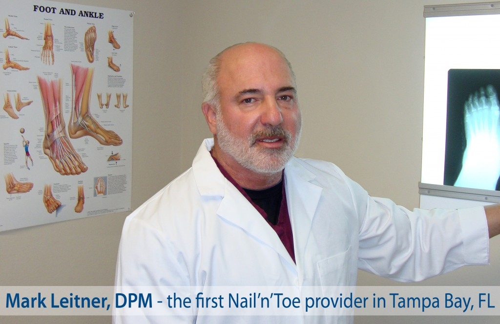 Brandon podiatrist, Mark Leitner, DPM